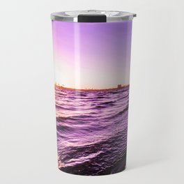 Mission Bay Riverboat Sunset in San Deigo, California Travel Mug