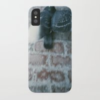 pigeon iPhone & iPod Cases featuring pigeon  by erinreidphoto