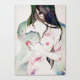 Pale Mermaid Canvas Print