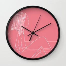 Two Places (pt 1) Wall Clock