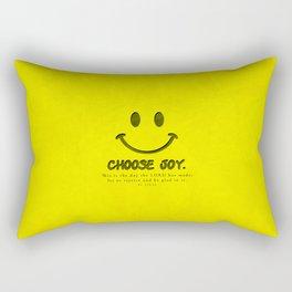 Choose Joy - Bible Lock Screens Rectangular Pillow