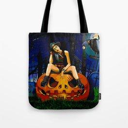 Miss Krueger (Halloween) Tote Bag