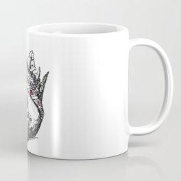 Skull with Crown Jewels Coffee Mug