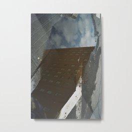 NYC PUDDLE Metal Print