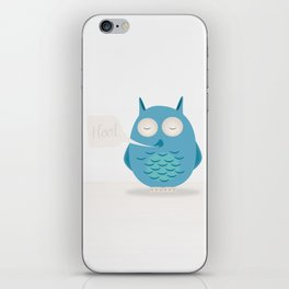 That was a hoot! iPhone Skin