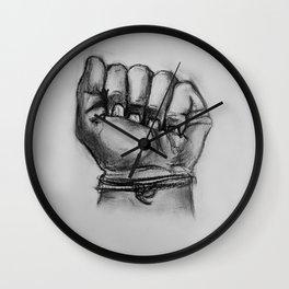 Make A Fist! Wall Clock