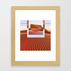 Desert Scape Framed Art Print