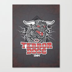 NY Terror Dogs Canvas Print