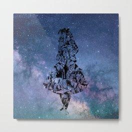 Alice in the Sky Metal Print