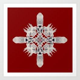 Ancient Royal Calaabachti Urn Art Print