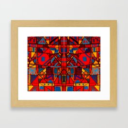 1974 GeoAbstract  Framed Art Print
