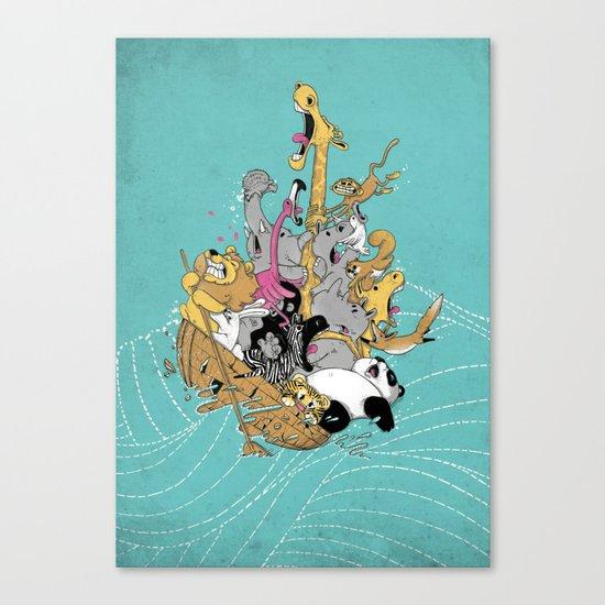 Hang On Tight! Canvas Print