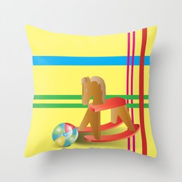 Child's Play Throw Pillow