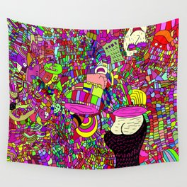 """The upside down"" Wall Tapestry"