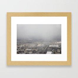 Aerial: 2/16/13 (Near LGA) - 1 Framed Art Print