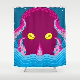 Symmetrical Terror Shower Curtain