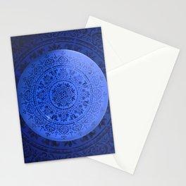 Sapphire Mandala Stationery Cards