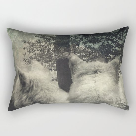 Longing Rectangular Pillow