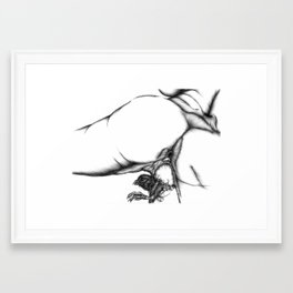 Born Framed Art Print