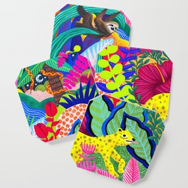 Jungle Party Animals Coaster