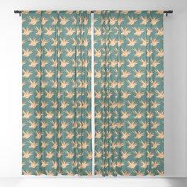 Tropicalia Lush Sheer Curtain