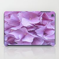hydrangea iPad Cases featuring Hydrangea by lillianhibiscus