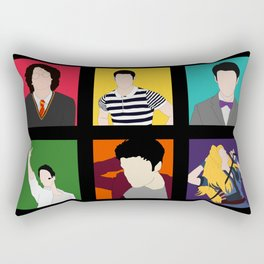 From Harry To Hedwig Rectangular Pillow