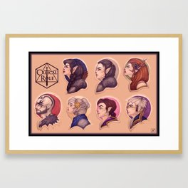 Vox Framed Art Prints | Society6