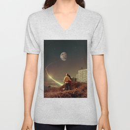 We Used To Live There, Too Unisex V-Neck