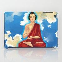 buddah iPad Cases featuring Adeptu Buddah by Conversa entre Adeptus