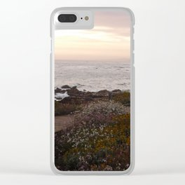 On the right path - Wildflowers bloom for those in love Clear iPhone Case