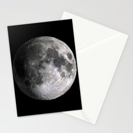 The Full Moon Super Detailed HD Print Stationery Cards
