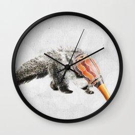 Anteater Maracas Wall Clock