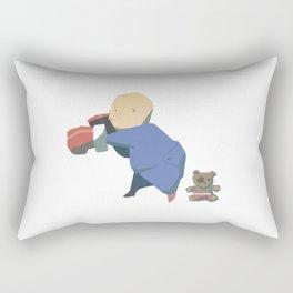 Rompers Boxer Rectangular Pillow