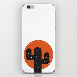 Bathing cactus iPhone Skin