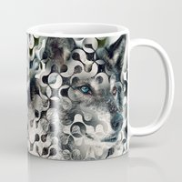 into the wild Mugs featuring wild by Vin Zzep