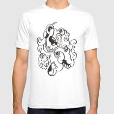 Doodle of the day Mens Fitted Tee SMALL White