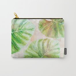 Pearlescent mosaic and plants Carry-All Pouch
