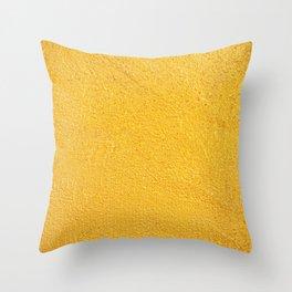 GOLDEN WALL / TEXTURE Throw Pillow