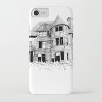 cabin iPhone & iPod Cases featuring cabin fever by PAFF