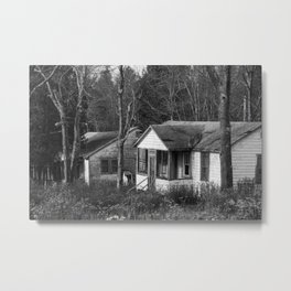 Bungalows Metal Print