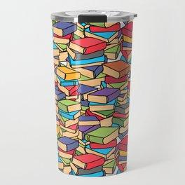 Maximalist Book Collector Travel Mug