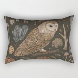 Harvest Owl Rectangular Pillow