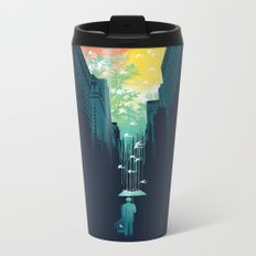 I Want My Blue Sky Metal Travel Mug