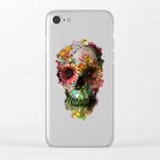 SKULL 2 Clear iPhone Case
