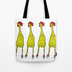 Rubber Chicken Tote Bag