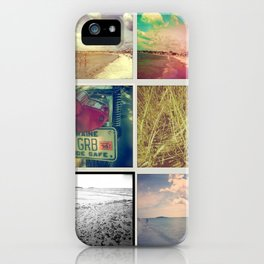 Greetings From Goose Rocks iPhone Case