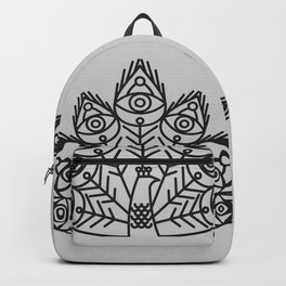 Cosmic Peacock Backpack
