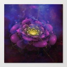 A Beautiful Fractal Flower 3 Canvas Print