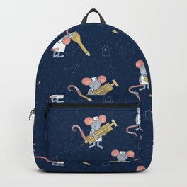 Mouse Nurse Here to Help You Backpack